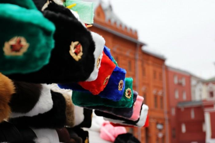 Сувениры на Красной площади