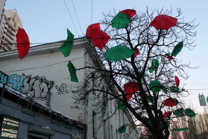 Зонтики в Киеве