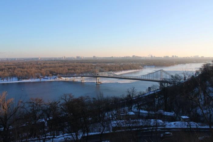 Днепр в Киеве
