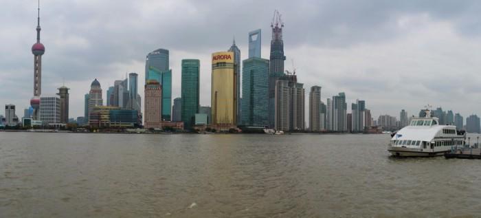 Шанхай панорама