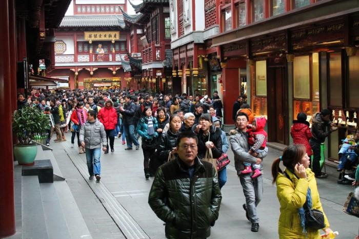 улочки Шанхая