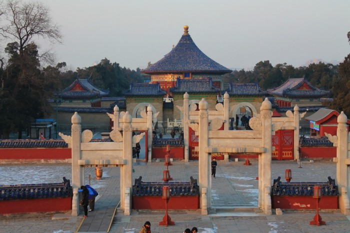 Алтарь и Храм Неба в Пекине