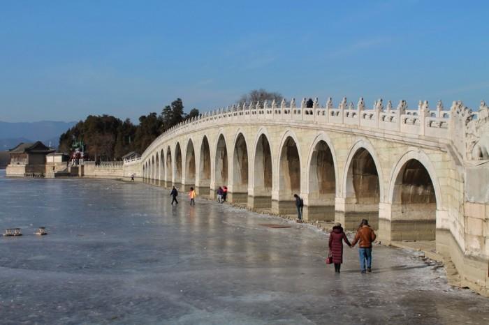 мост в Летнем дворце