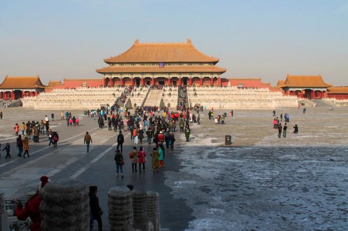 Императорский дворец Запретного города