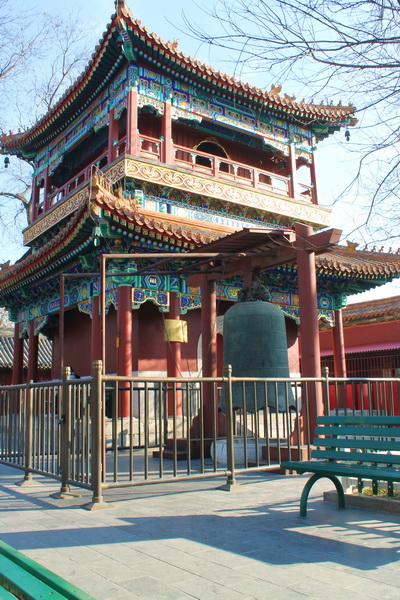 Буддийский монастырь в Пекине