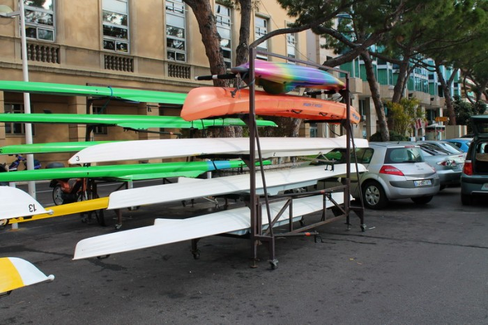 Лодки в Монако