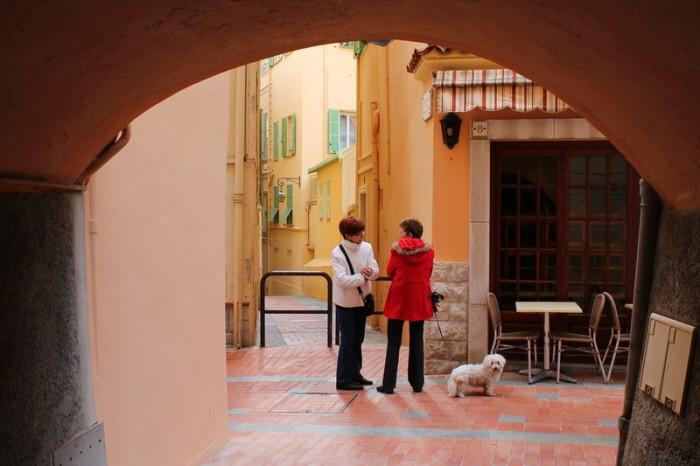 дворы Монако