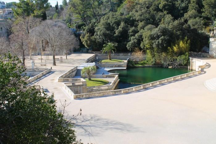 Сад фонтанов Нима