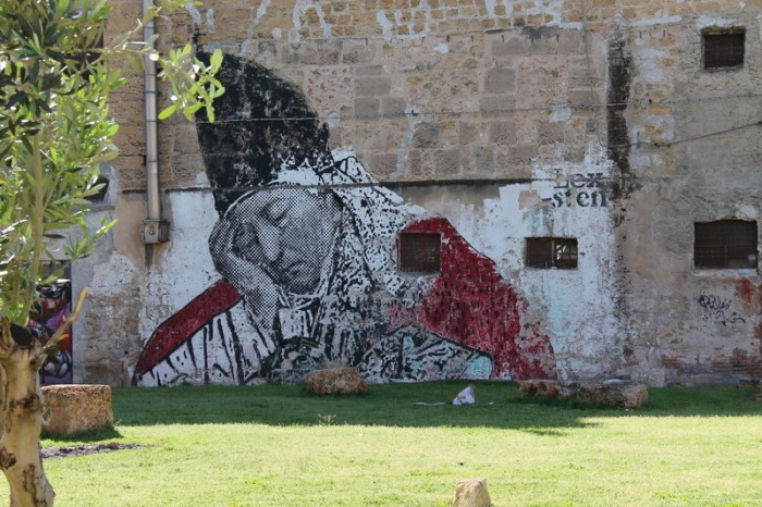 Рисунки на стенах Палермо