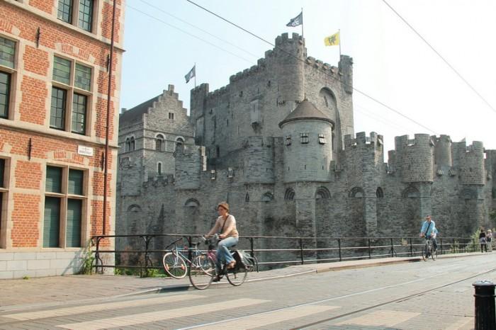 замок в Генте