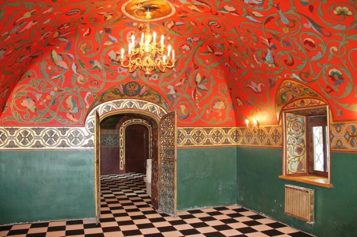Красная комната. Дворец Юсуповых