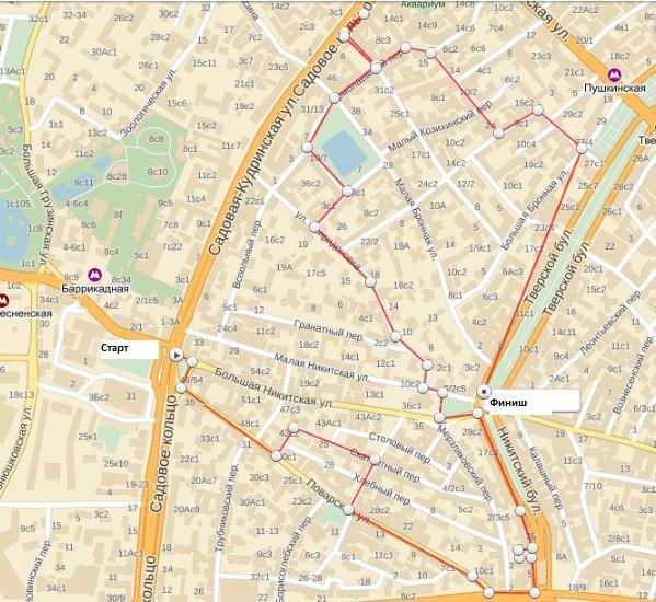 карта маршрута1